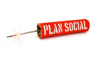 """Pétard """"Plan social"""""""